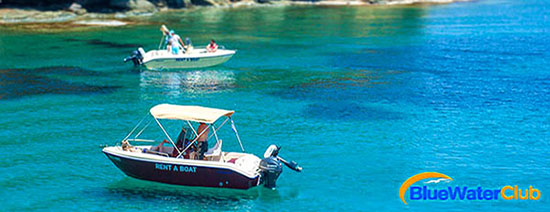 Boat Rentals - rent a boat without licence in Agia Pelagia