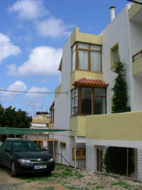 Long term apartments for rent in Agia Pelagia Crete Island