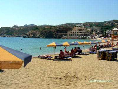 beach of Agia Pelagia