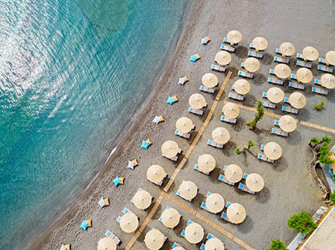 Kladissos beach at Capsis Elite Resort Hotel (Agia Pelagia) CRETE