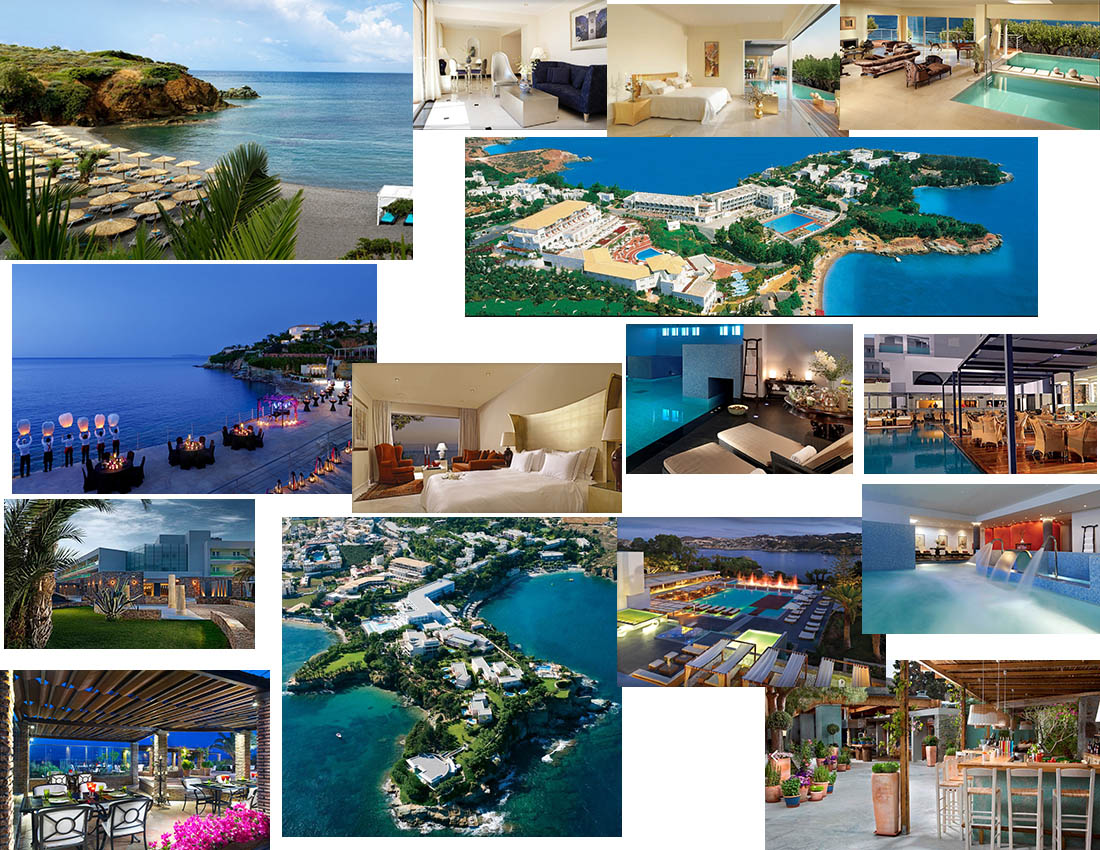 Capsis Hotels - Out of the Blue Luxurious Elite Resort in Agia Pelagia Crete