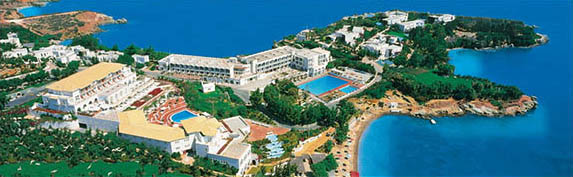 Luxurious Capsis Elite Resort Hotel in Agia Pelagia Crete