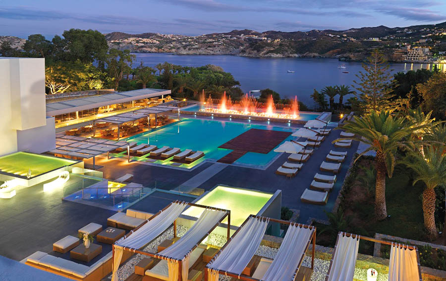 Capsis Luxurious Resort Hotel - Agia Pelagia CRETE