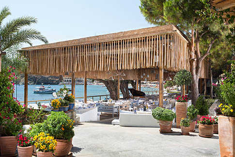 Capsis Elite Resort - Taverna on the Beach of Agia Pelagia