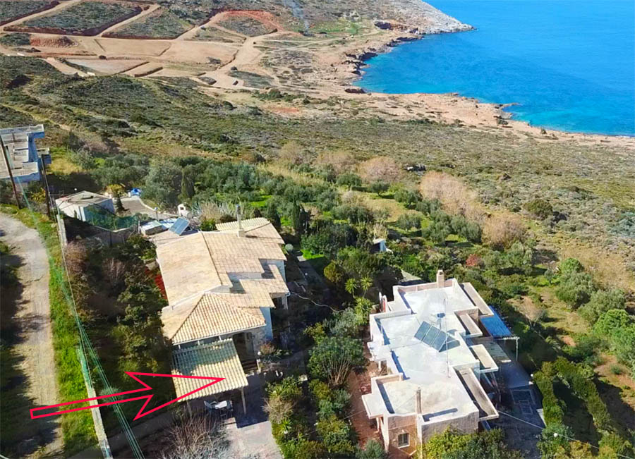 Villa & Studios for sale in Agia Pelagia CRETE - for sale by the owner