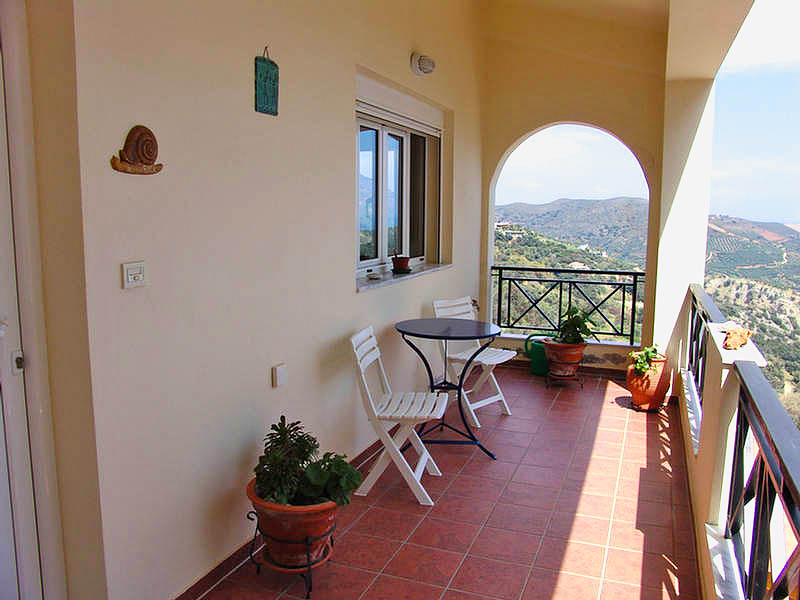 Rogdia villa for sale - photo of the balkony view
