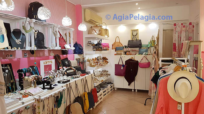 AURA Shop - Clothes Shopping in Agia Pelagia Crete